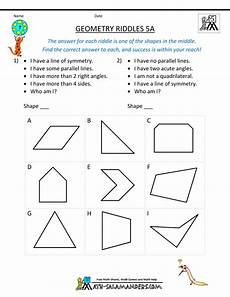 riddle worksheets for grade 5 10905 pin by brenda kilmurray on math geometry worksheets math worksheets basic geometry