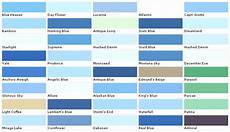 beautiful paint colors blue 5 light blue paint color chart laurensthoughts com