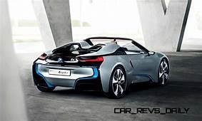 Spec Renderings  2016 BMW I8 Spyder