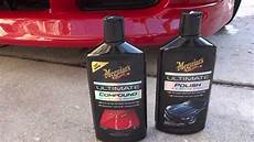 results from meguiars ultimate compound and tech