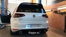 underground exhaust vw golf 7 gti clubsport stage 3 sound
