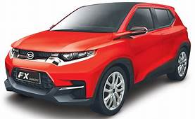 Daihatsu FX SUV Concept Revealed For Asia Toyota Badge