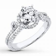 diamond engagement ring 1 1 3 ct tw round cut 14k white gold 99127940399 jared