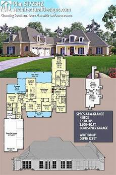 southernliving house plans plan 51725hz charming southern house plan with two bonus