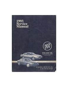 car repair manual download 1993 buick park avenue regenerative braking 1993 buick park avenue lesabre factory service manual