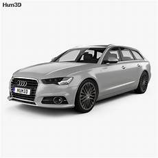 Audi A6 C7 Avant 2015 3d Model Vehicles On Hum3d