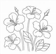 Inspirasi 25 Sketsa Mudah Bunga