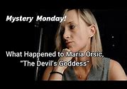 MYSTERY MONDAY- What Happened to Maria Orsic, The Devil's Goddess? #mariaorsic #mysterymonday