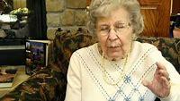 Funny Senior Citizen tells a joke in Noblesville, Indiana