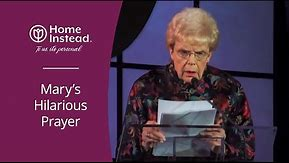 Funny Prayer about Getting Old - Home Instead