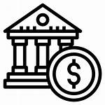 Bank Icon Icons Business