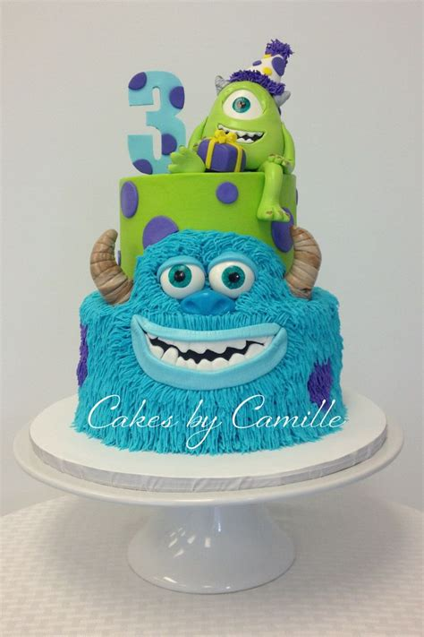 monsters inc cake monsters inc birthday cake mike and sulley