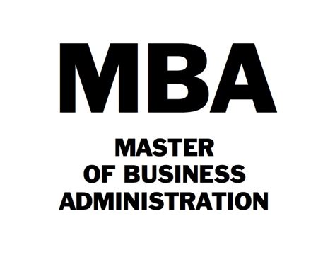 MBA Business Administration Salary