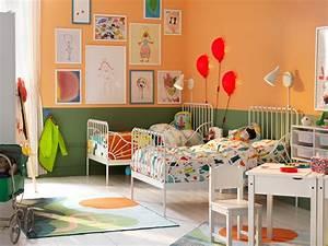 Chambre D Enfant Ikea : chambre d 39 enfant ensoleill e ikea ~ Teatrodelosmanantiales.com Idées de Décoration