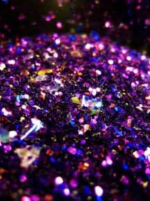 Blue and Purple Glitter