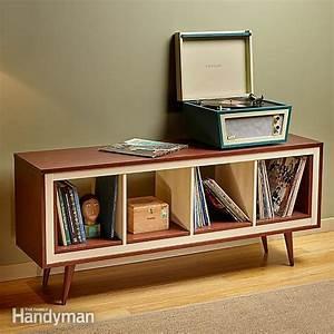 Ikea Kallax Hack : ikea kallax hack mid century modern console the family handyman ~ Markanthonyermac.com Haus und Dekorationen