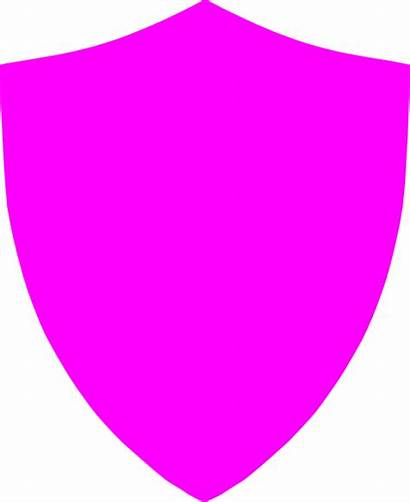 Football Shield Pink Clipart Clip Pitch Clker