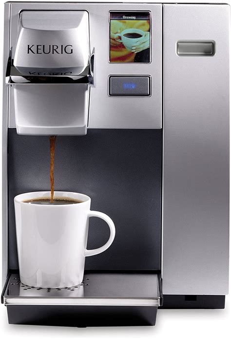Coffee nespresso ninja oxo perfect pod presto primula professional series russell hobbs stanley. Keurig K155 Office Pro Commercial Coffee Maker, Single Serve K-Cup Pod Coffee Brewer, Silver ...