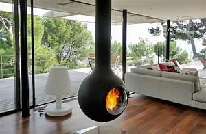 Poil A Bois Suspendu : foyers bois suspendus en vente chez dossin chemin es ~ Premium-room.com Idées de Décoration