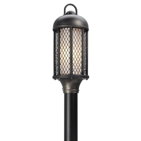 integrated led outdoor lighting troy lighting signal hill outdoor aged silver integrated