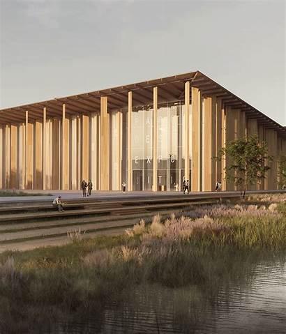 Architecture Japanese Kuma Kengo Associates Exhibition Award