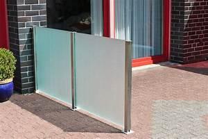 Windschutz Glas Terrasse : glaszaun f r garten und terrasse glasprofi24 ~ Whattoseeinmadrid.com Haus und Dekorationen
