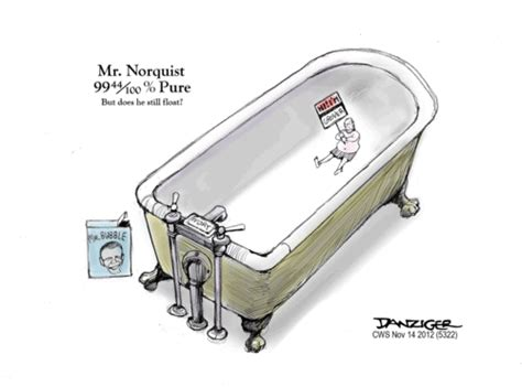 "Drowning Grover Norquist's ""pledge"" In The Bathtub"
