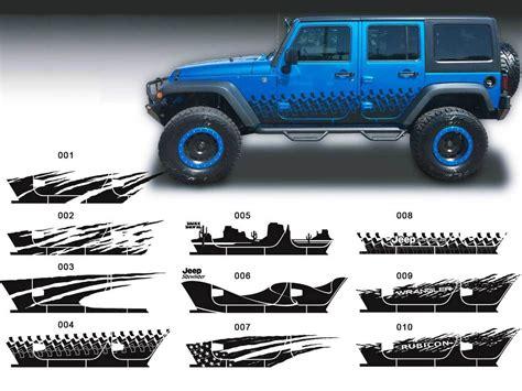jeep sticker ideas product jeep decal sticker splash side rocker door