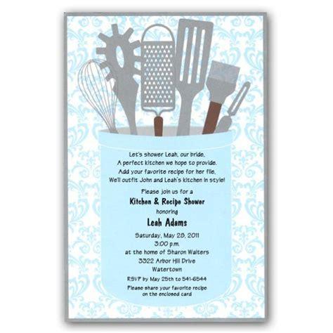 gleam kitchen shower invitations kitchen shower bridal