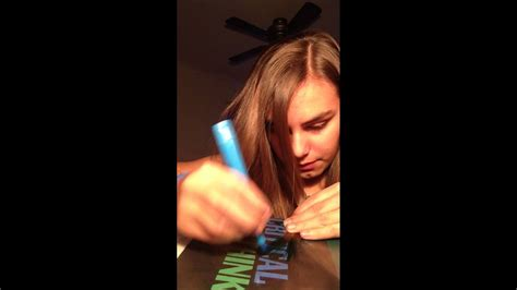 How To Dye Your Hair With Markers Or Highlighters