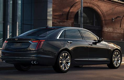Non-v-sport 2019 Cadillac Ct6 Updates Outlined