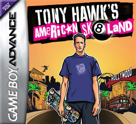 Tony Hawks American Sk8land Box Shot For Game Boy Advance