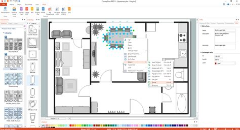 how to get floor plans basic floor plans solution conceptdraw