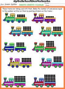 Kindergarten Worksheets For Preschools, Playschools and