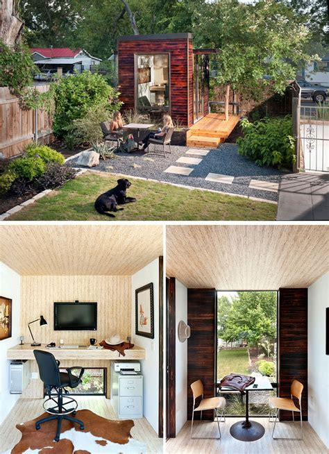 Backyard House - 14 inspirational backyard offices studios and guest