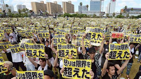us preparing for okinawa land return in 40 years rt america