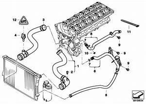 Original Parts For E46 320i M52 Sedan    Engine   Cooling