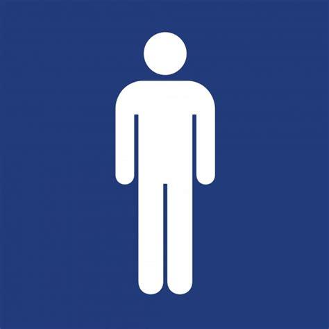 pictogramme toilette homme femme adh 233 sif pictogramme quot toilettes hommes quot bleu