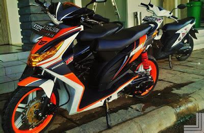 Beat Modifikasi Standar by 20 Gambar Modifikasi Motor Honda Beat Standar Kumpulan