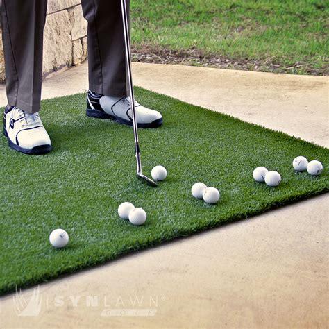 golf doormat portable fairway mat 4 x 4 synlawn golf