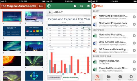 android office 365 on with office mobile for office 365 subscribers
