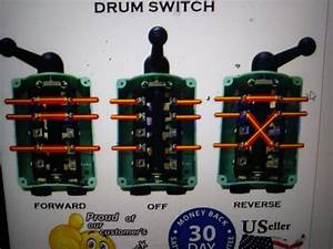 Wiring Drum Switch To Reverse Single Phase Motor