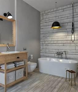 Tapeten Badezimmer Beispiele : badezimmer ohne fliesen ideen f r fliesenfreie wandgestaltung ~ Markanthonyermac.com Haus und Dekorationen