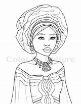 Coloring Coloriage African Printable Portraits Sheets Dessin Culture Africaine Personnages Et Adult Adulte Livre Visages Des Para Fashions Coloriages Coloration sketch template