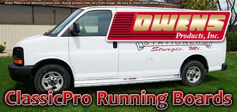 Aluminum Running Board 97-2012 Chevy Express Gmc Savana