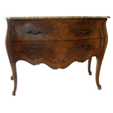 furniture international furniture company on a marble top bombay chest by paine furniture company