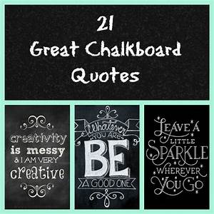 21 Great Chalkboard Quotes How Does She
