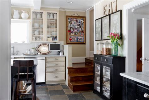 kitchen to go cabinets relaxed and classic home tour town country living 6312