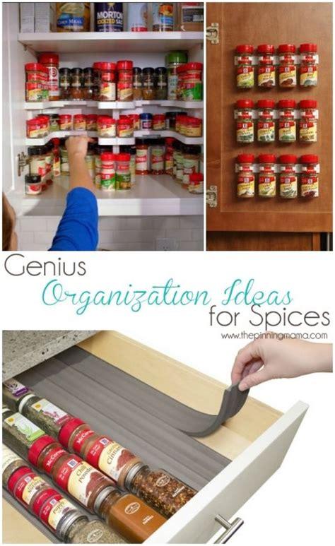 kitchen spice organization ideas 1000 ideas about spice rack organization on 6113