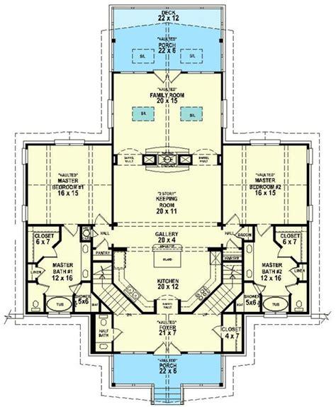 images  dual master suites house plans